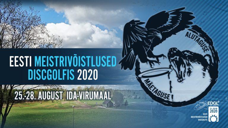 Estonian Disc Golf championship 2020