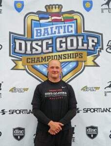 Baltic disc golf championship profile photo Tõnis Soppe