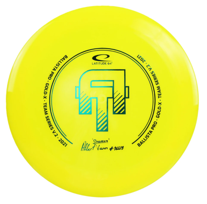 Latitude 64 Gold-X Ballista Pro Team Series V2 2021 Albert Tamm