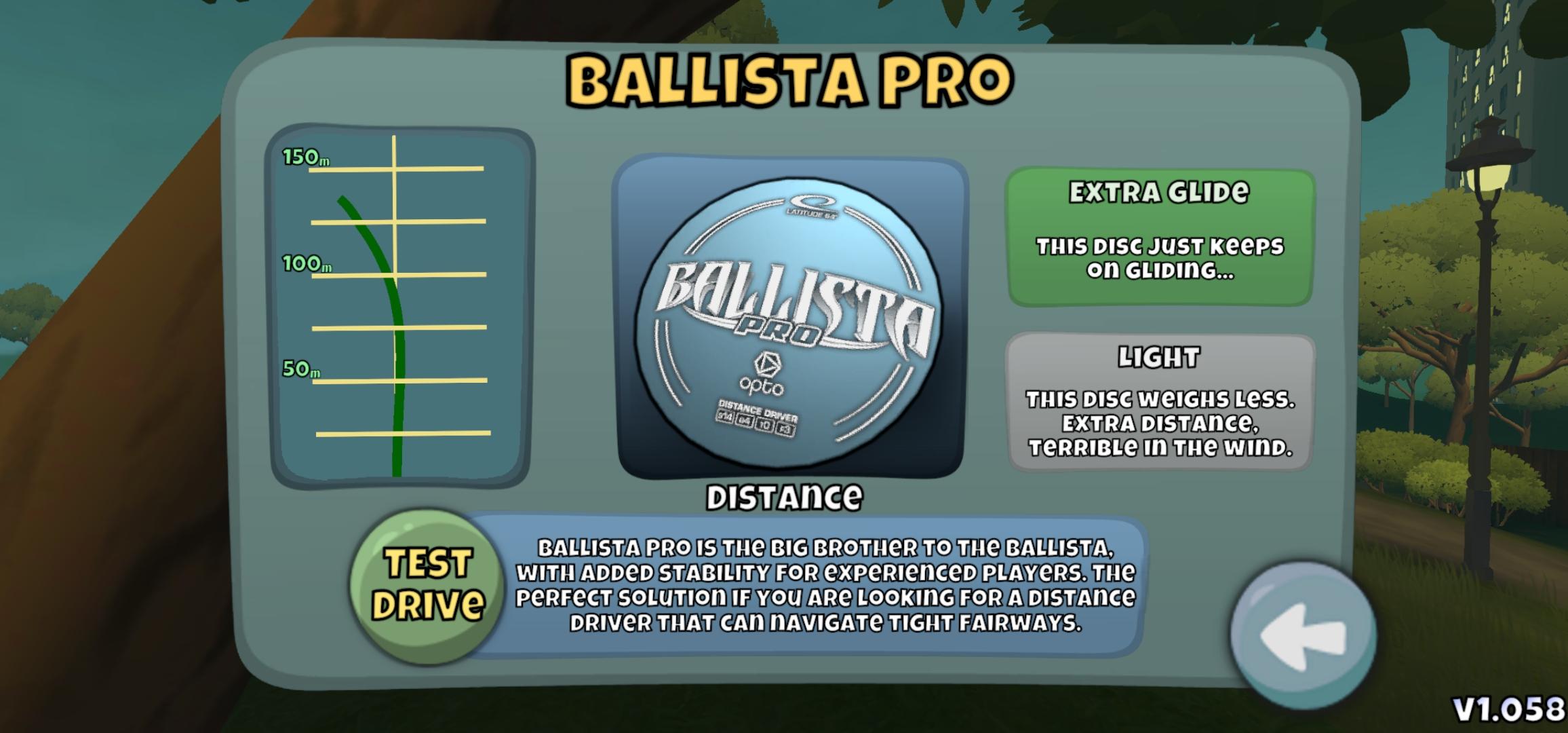 Best Distance Driver in Disc Golf Valley - The Ballista Pro Extra glide-Light