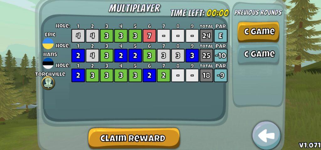 Disc Golf Valley Multiplayer