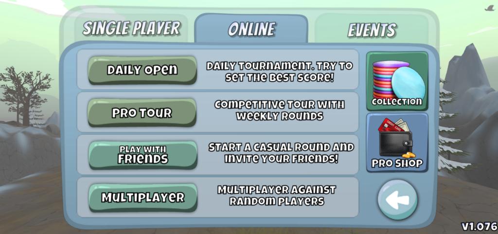 Disc Golf Valley multiplayer onlie