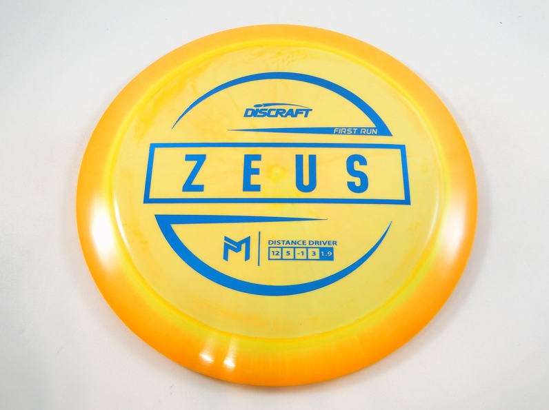 Paul McBeth maximum distance driver Discrraft Zeus