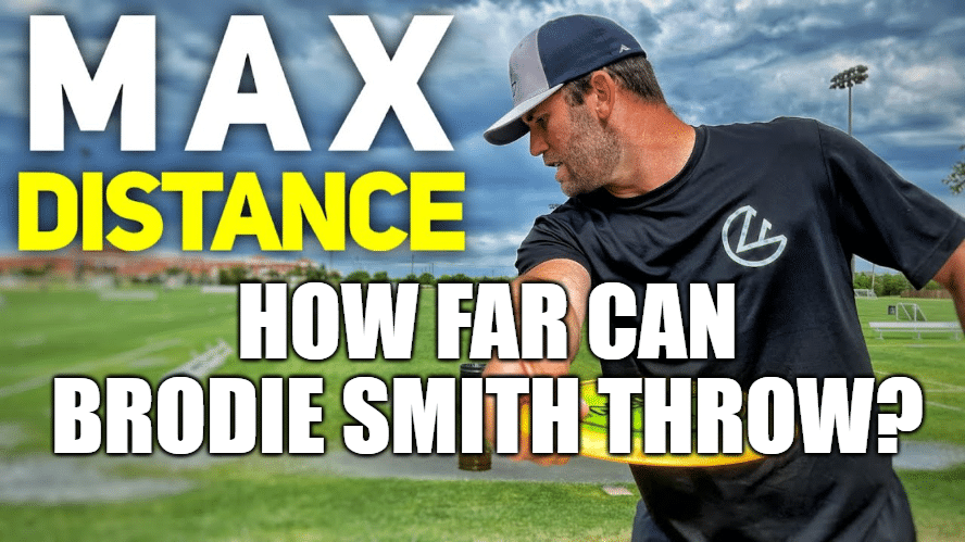 How far can Brodie Smith throw