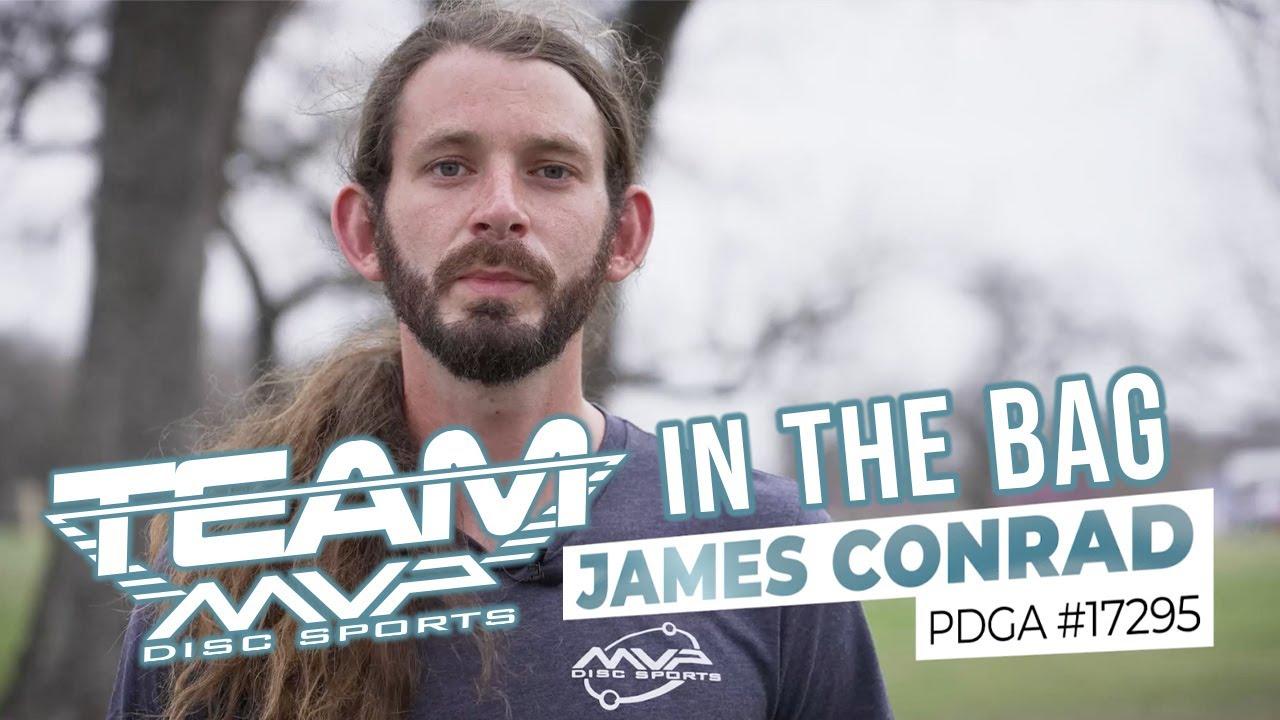 James Conrad in the bag MVP 2021
