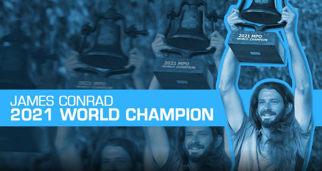 james conrad 2021 world champion